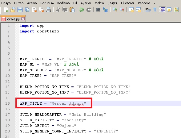 metin2 pvp server adı değiştirme