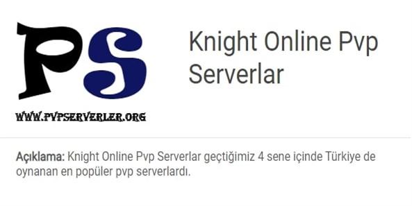 Knight Online Pvp Serverlar