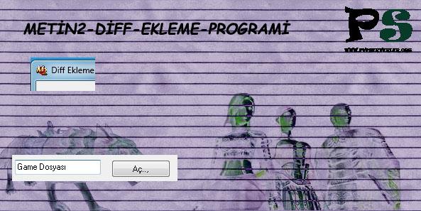Metin2 Diff Ekleme Programı / Diff Nasıl Eklenir