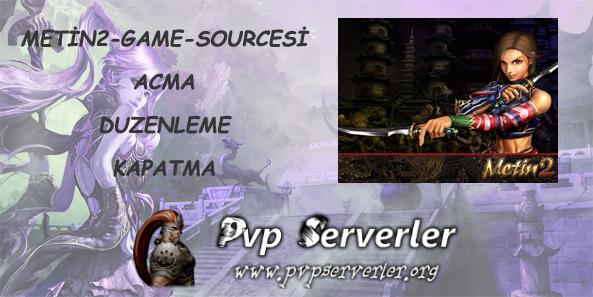 Metin2 Game Sourcesi Açma / Düzenleme / Kapatma